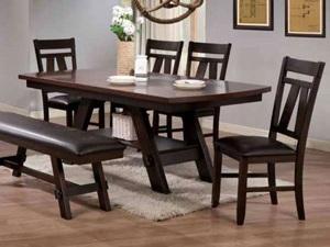 Купить стол деревянный в СПб для дачи