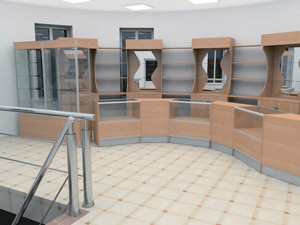 Продажа торгового оборудования для загородных магазинов