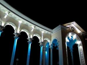 Уличные led прожекторы для загородной недвижимости
