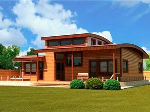 Проекты деревянных домов для земельных участков по Киевскому шоссе