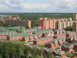Новостройки города Долгопрудного и земельных участков по Киевскому шоссе
