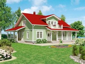 Финские сборные дома идеально подходят для климата земельных участков по Киевскому шоссе