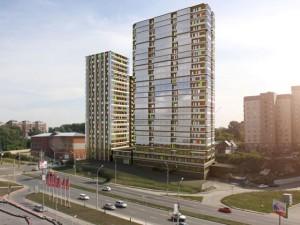 Доля надежных новостроек на рынке Новосибирска и земельных участков по Киевскому шоссе на рынке Подмосковья