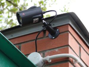 Уличные видеокамеры для установки на земельных участках по Киевскому шоссе