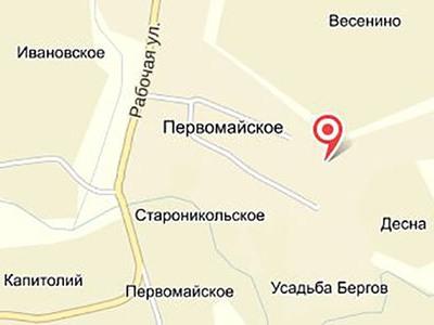 Земельный участок 9 соток, 25 км от МКАД, п. Первомайское