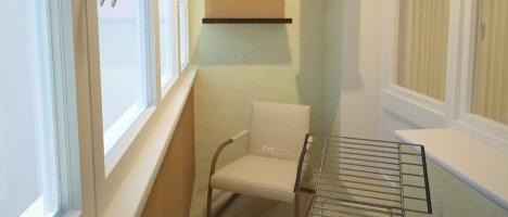 Перепланировка балкона - один из способов выделиться