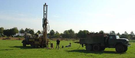 Геологическое исследование земельного участка